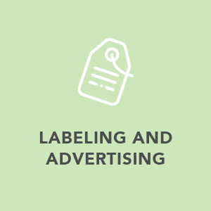 Labeling and advertising